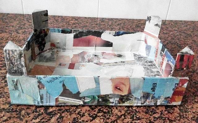 Cartapesta en caja de fresas - foto 2