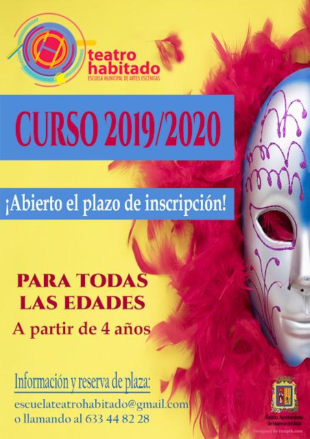 ABIERTO EL PLAZO DE INSCRIPCIÓN PARA TEATRO HABITADO 2019/2020.