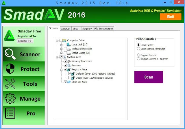 SmadAV 10.5 serial key