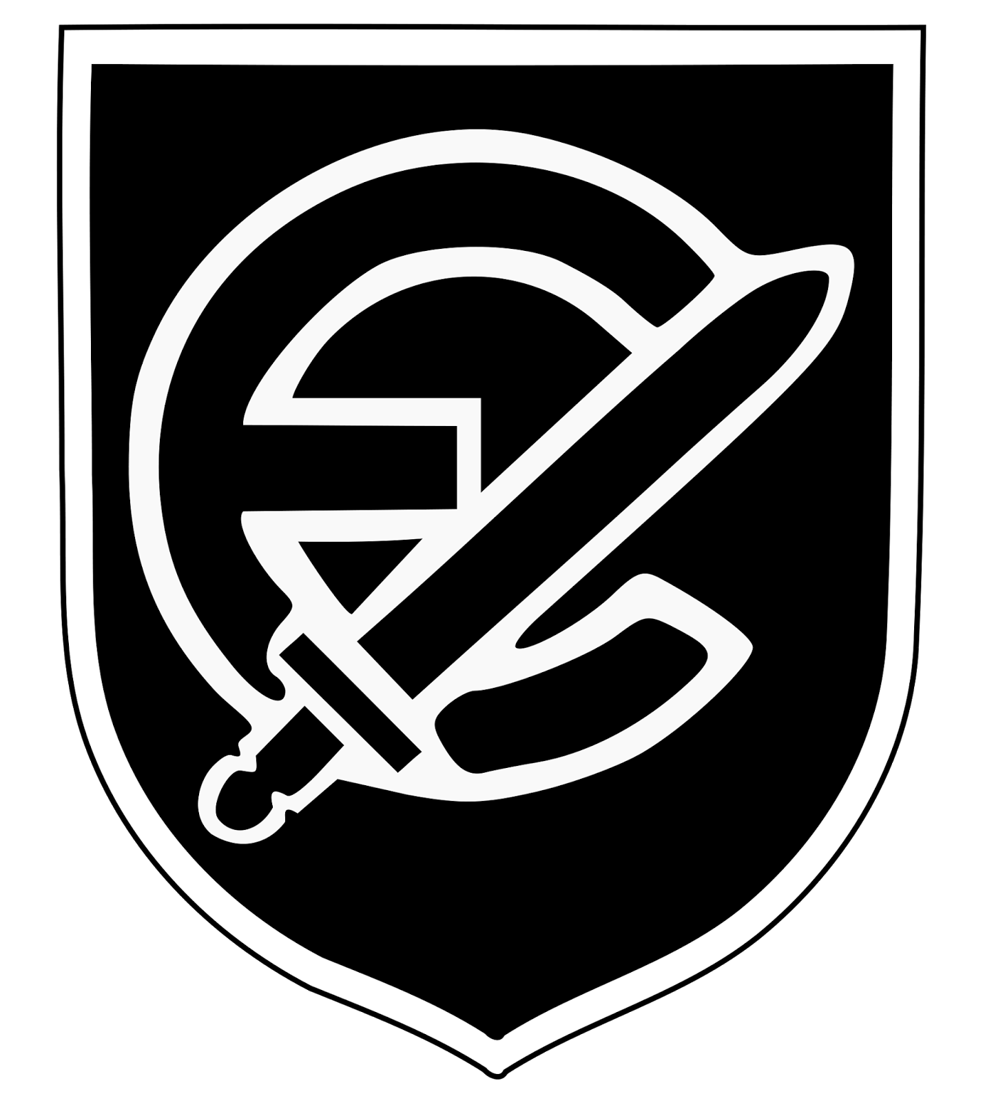 NAZI JERMAN: Foto 20. Waffen-Grenadier-Division Der SS