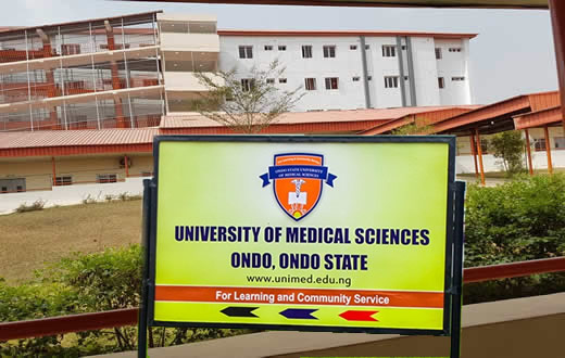 Ondo State University of Medical Sciences Recruitment 2018