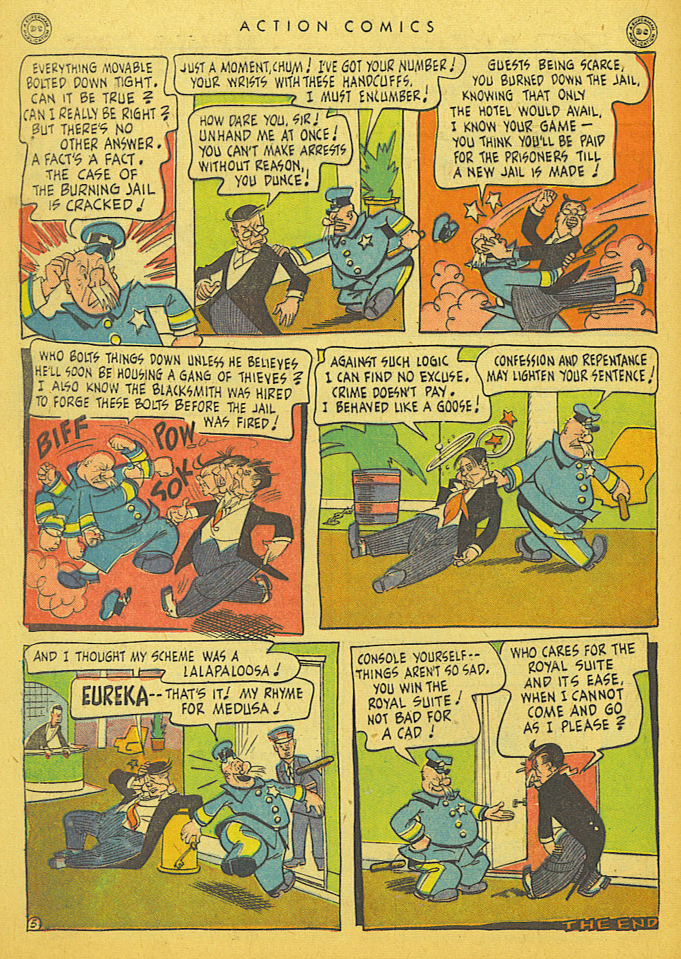 Read online Action Comics (1938) comic -  Issue #86 - 40