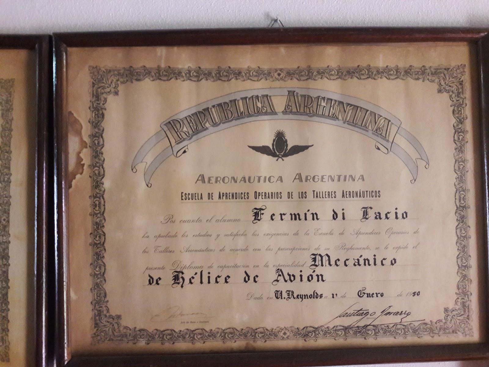 Mi Historia con la aviación de Fuerza Aerea Argentina