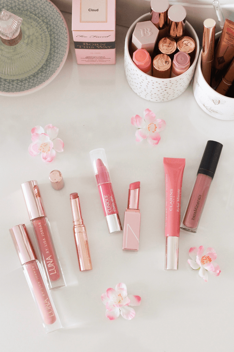 Favourite lip glosses & tinted lip balms