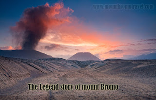 The Legend story of mount Bromo