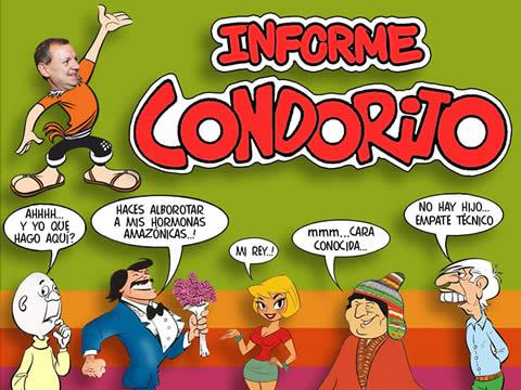 SE MOFAN DEL GRINGO GONZALES POR SU INFORME CONDORITO