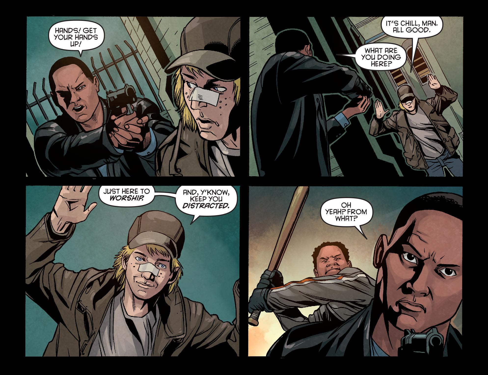 Read online Arrow: Season 2.5 [I] comic -  Issue #5 - 18