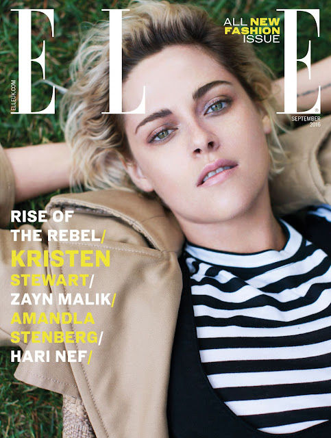 Actress, @ Kristen Stewart - Elle UK September 2016