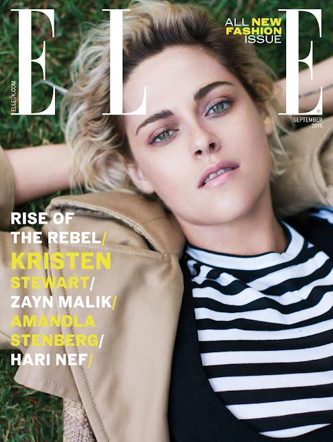 Actress, @ Kristen Stewart - Elle UK September 2016