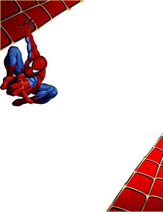 Bordes Decorativos: Bordes decorativos del Hombre Araña (Spiderman ...
