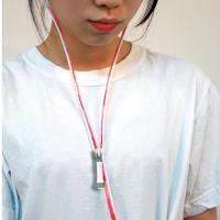 Des écouteurs équipés d'un zip