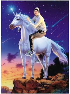 Hola Soy Germán vs Bicicleta humor unicornio