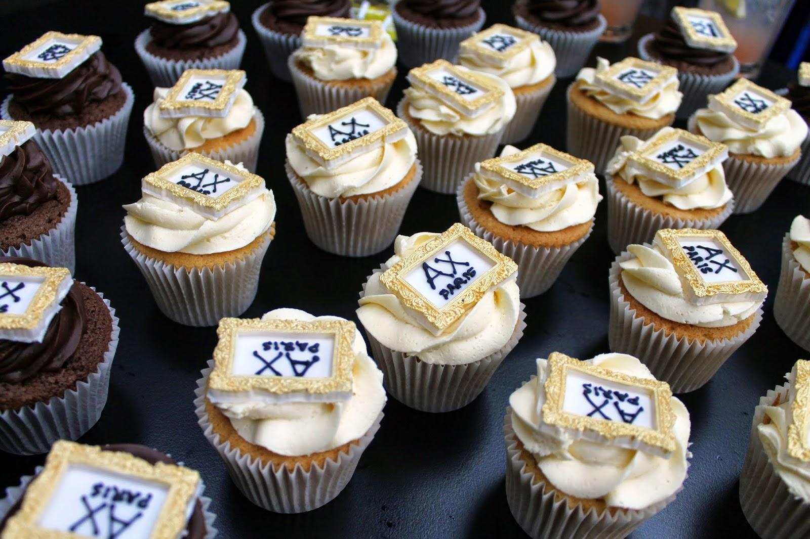 AX paris cupcakes