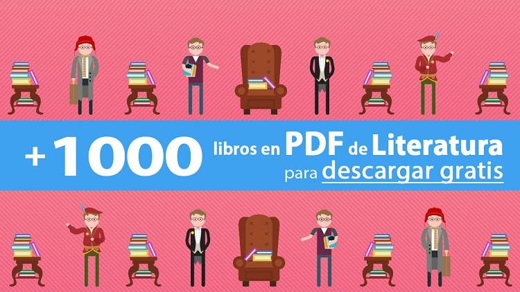 +1000 LIBROS EN PDF DE LITERATURA PARA DESCARGAR GRATIS
