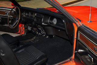 1969 Mercury Cougar Boss 302 Interior