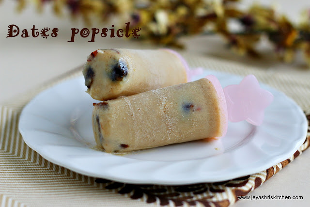 Dates popsicle