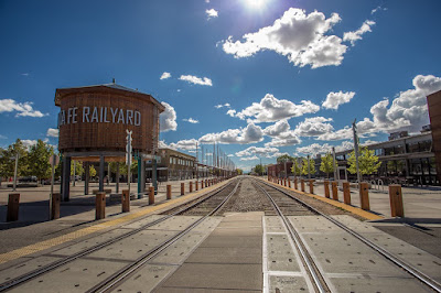 Santa Fe Railyard by Laurence Norah