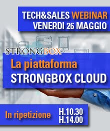 [Sales&Tech Webinar] La piattaforma STRONGBOX CLOUD