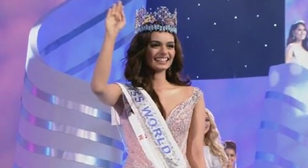 Manushi Chhillar Wins Miss World 2017, Cute Manushi Chhillar