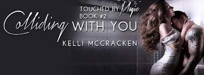 Release Day: Colliding With You by Kelli McCracken