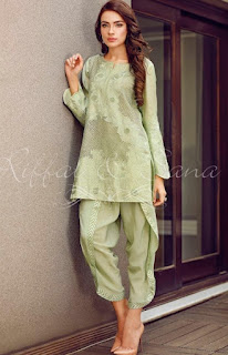 Riffat & Sana Eid Ul Fitr 2016-17 Party Wear Collection for Women