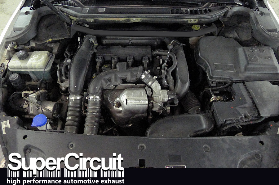 SUPERCIRCUIT Exhaust Pro Shop: Peugeot 508 THP Downpipe