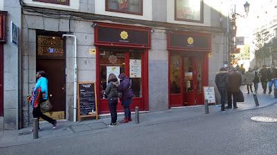 Restaurante Maria la Portuguesa Madrid