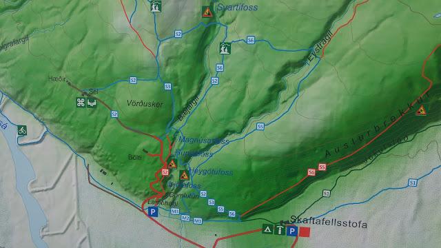 מפה (חלקית) של שמורת סווארטיפוס