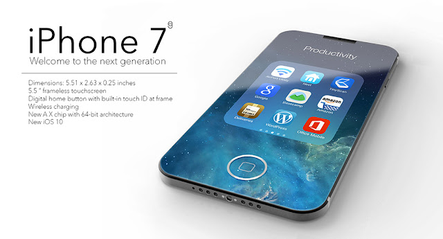 iPhone 7 Concept By Troy Turner