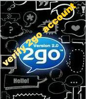 veriy 2go account
