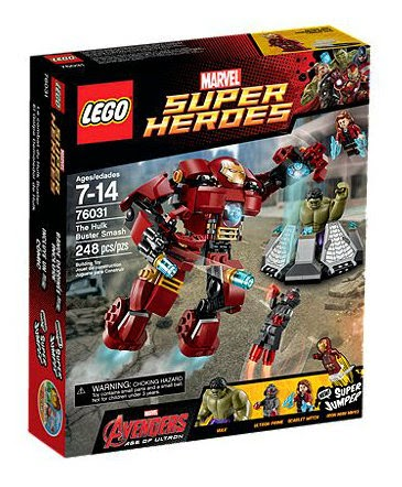 The Hulk Buster Smash 76031 LEGO