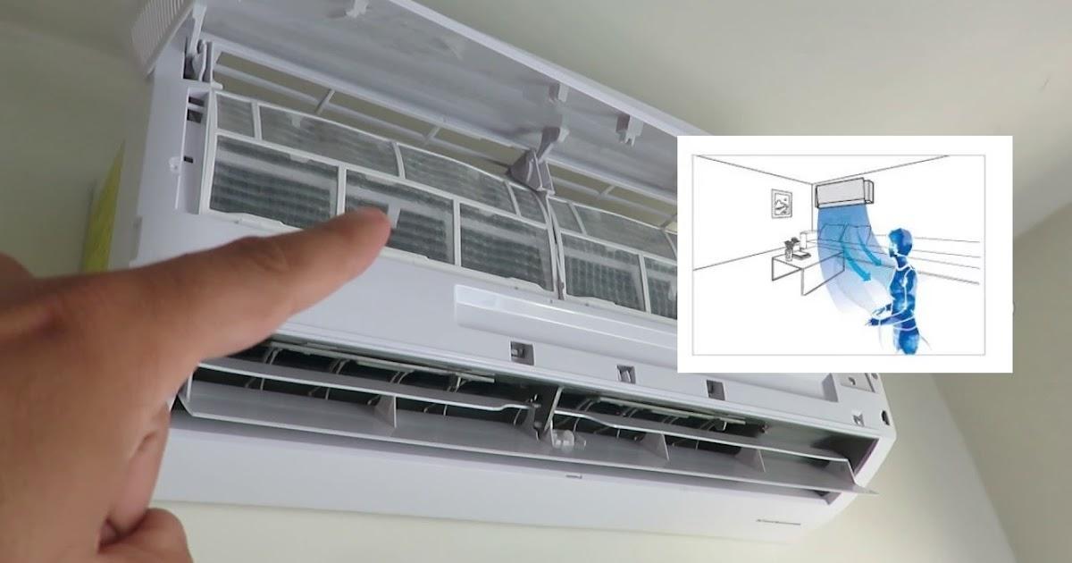 Ventilador aire acondicionado gira lento