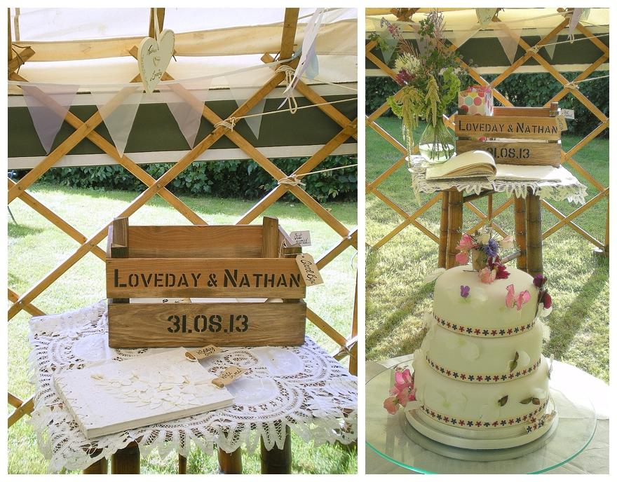 A Rustic Garden Wedding with a Festival Feel & Tonnes of ...