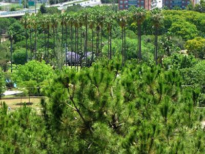 Parque de Can Mercader cerca de Barcelona