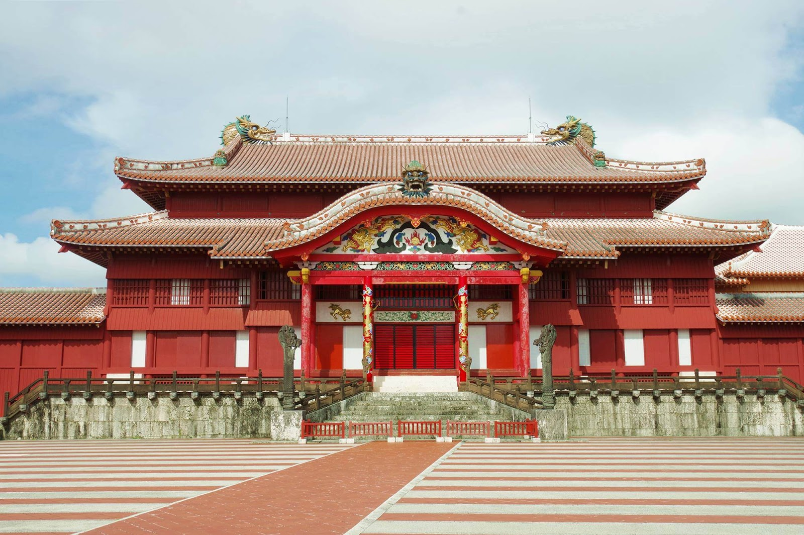 沖繩-推薦-景點-首里城-首里城公園-自由行-旅遊-Okinawa-Attraction-Shurijo-tourist-destination