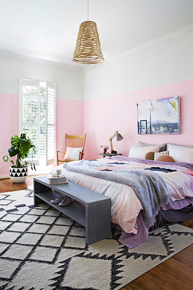One Bedroom Two Ideas In Diffe Colors