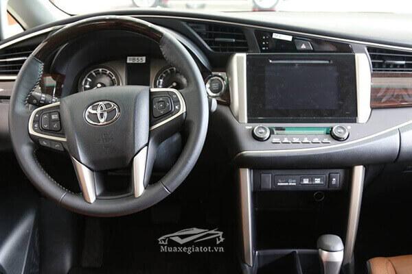 toyota innova 2019 tiện nghi trên xe