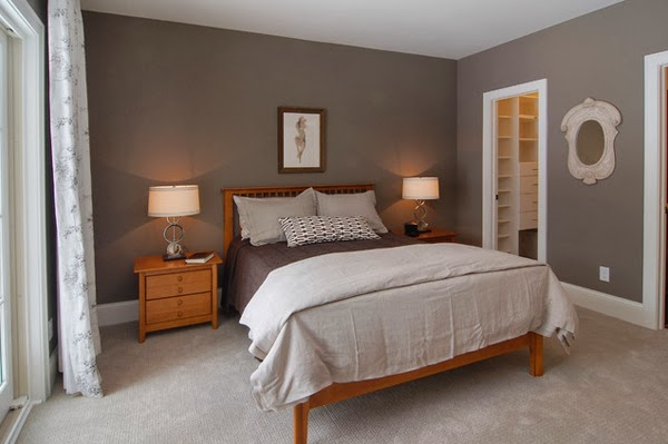 Bedroom Glamor Ideas: Earth tones bedroom Glamor Ideas.