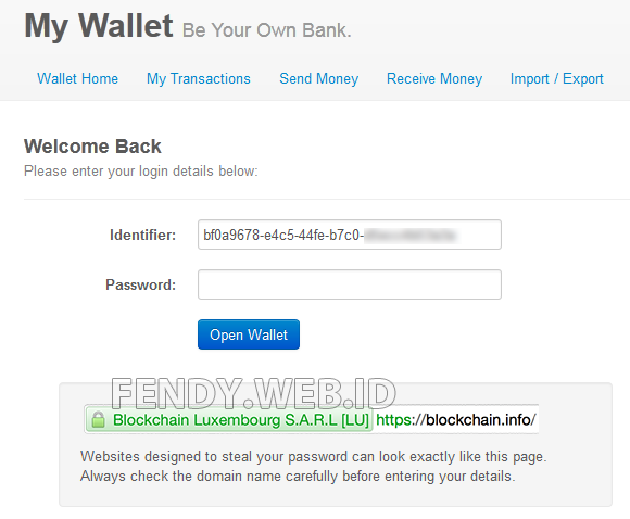 Cara membuat bitcoin wallet