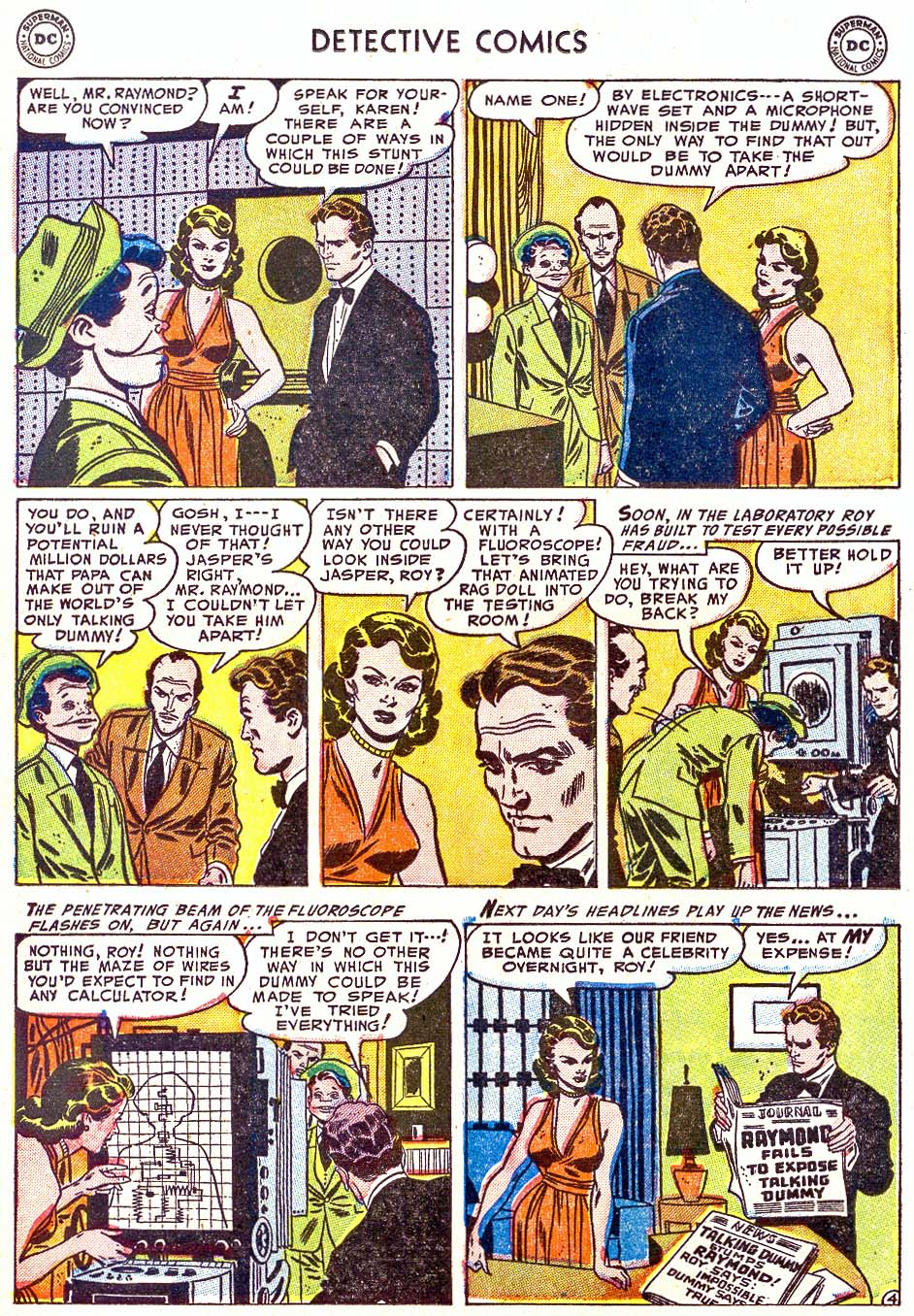 Detective Comics (1937) 202 Page 19