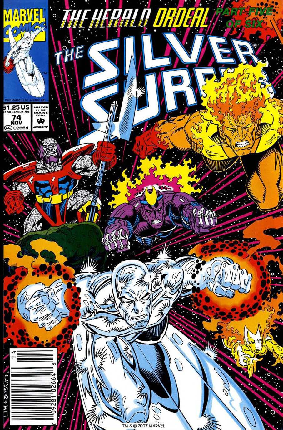 Silver Surfer (1987) issue 74 - Page 1