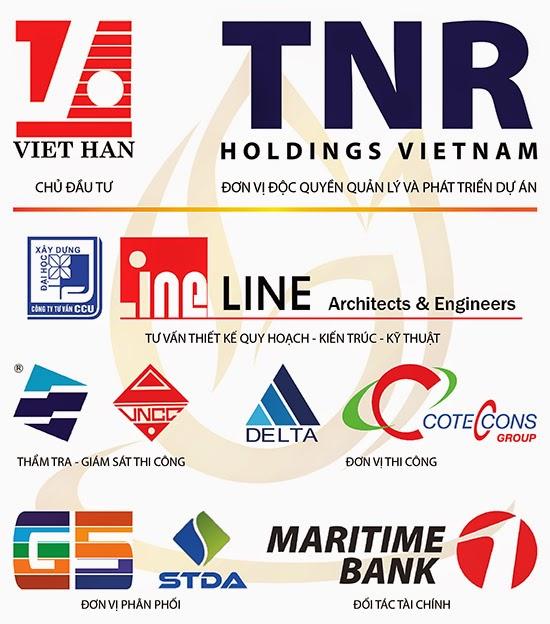 Các đơn vị tham gia dự án Goldmark City 136 Hồ Tùng Mậu
