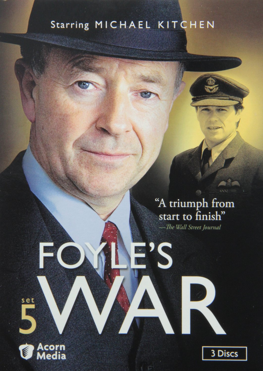 Michael Kitchen Is Christopher Foyle!