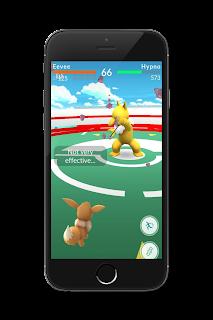 Evee Hypno Gym Battle Pokémon Go