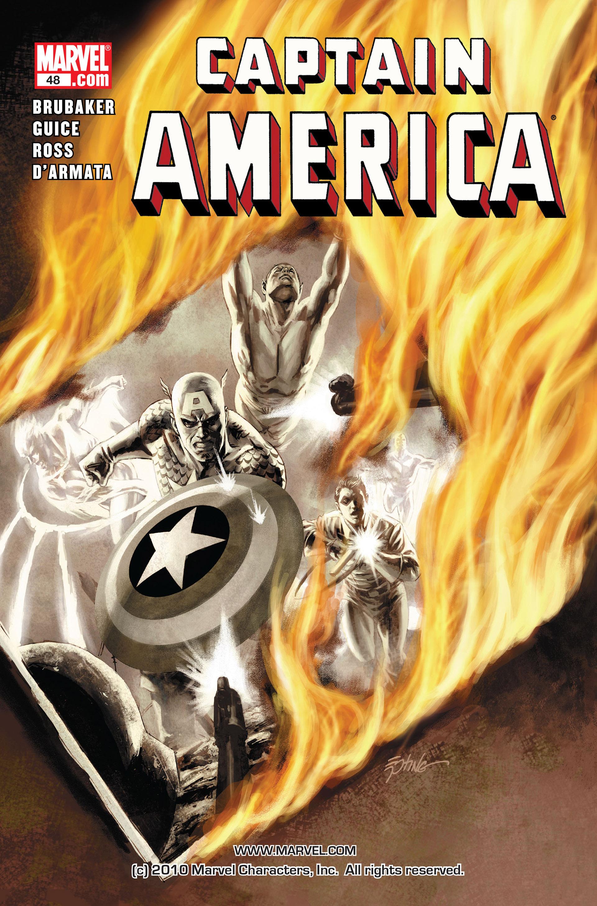 Read online Captain America (2005) comic -  Issue #48 - 1