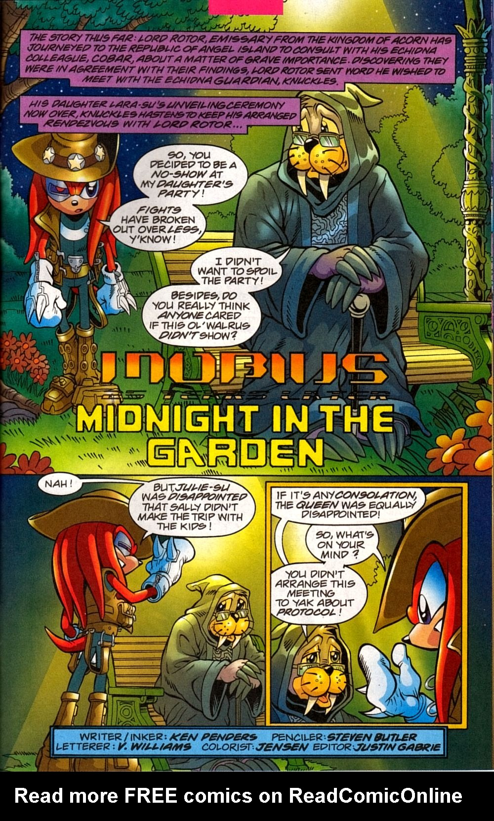 Read online Sonic The Hedgehog comic -  Issue #133 - 25