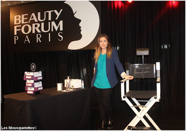 Beauty Forum Paris 2016 - L'Atelier Maquillage - Blog beauté Les Mousquetettes©