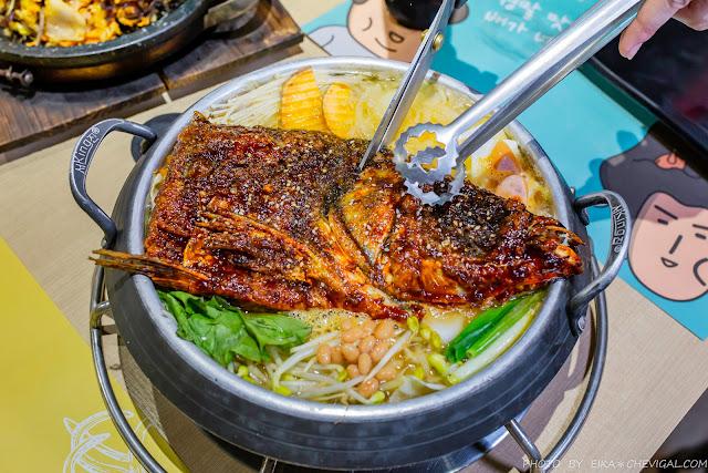 MG 7825 - 熱血採訪│超霸氣砂鍋魚頭部隊鍋登場啦!中科美食O八韓食新潮流,創意大份量韓式料理值得再訪