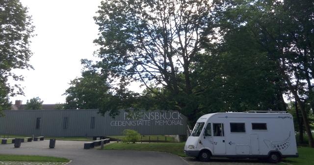 Pàrquing de visitants de Ravenbrück