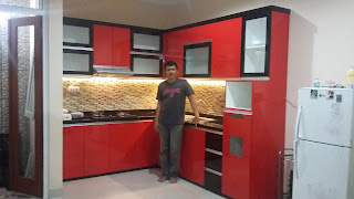 Kitchen Set Minimalis Warna Hitam